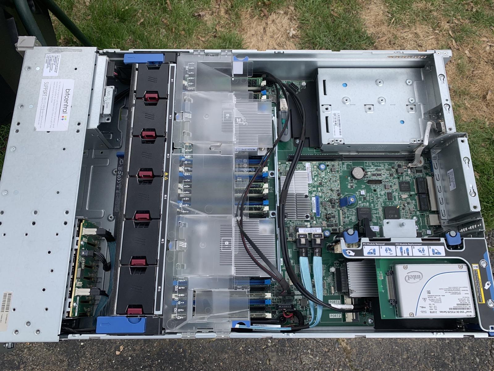 DL380 G9 Clean